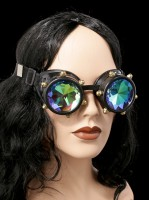 Steampunk Brille - Crystal Vision