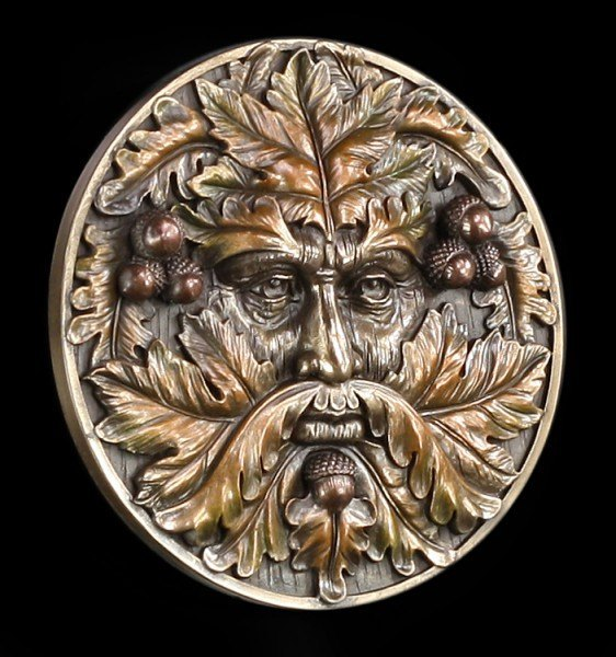 Greenman Wandrelief - Autumn Equinox