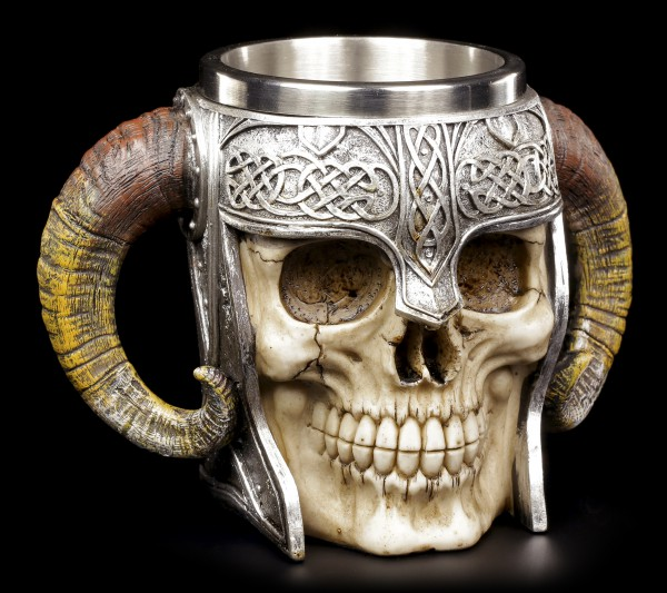 Viking Skull Tankard - Walhalla