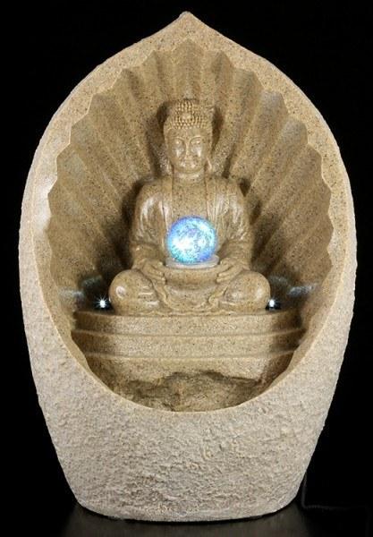 Großer Thai Buddha Brunnen mit LED