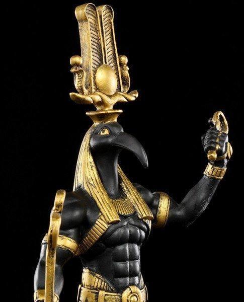 Ägyptischer Gott - Thot Figur als Krieger