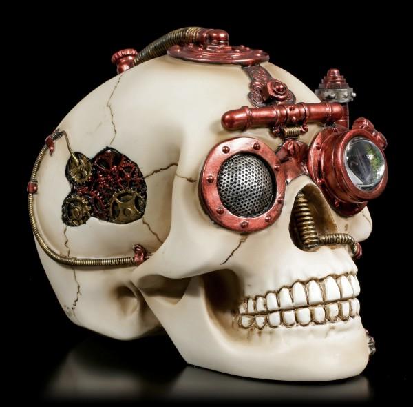 Steampunk Totenkopf Schatulle - Secret Observation