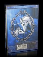 Notizbuch mit Einhörnern - Sacred Love