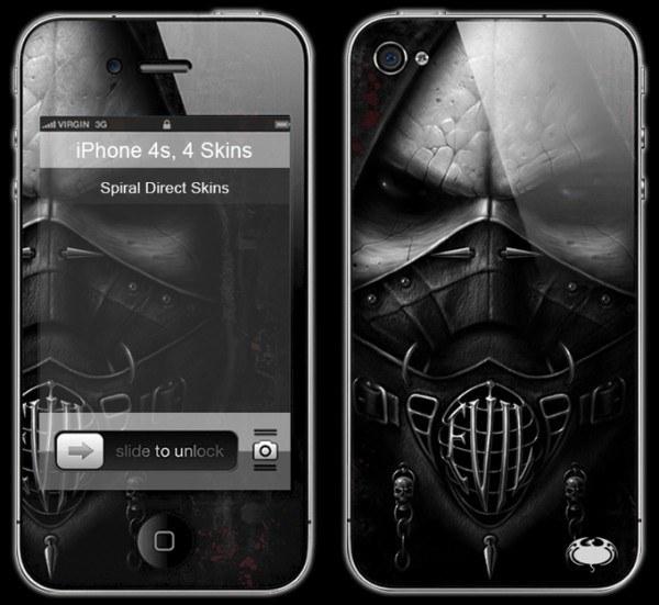 Gothic Smartphone Skin - Evil