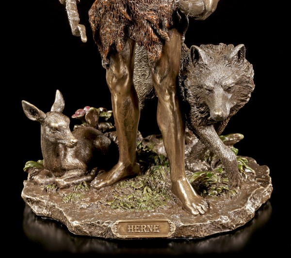 Herne Figurine - The Horned God with Animals