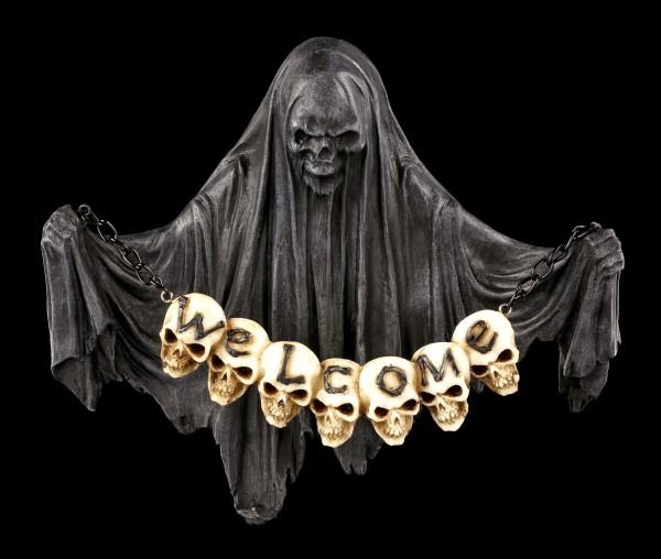 Reaper Door Sign - Lost Souls Welcome