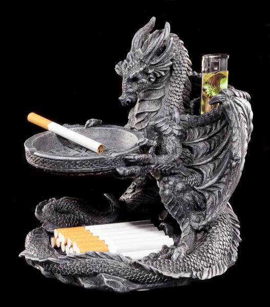 Drachenascher mit Feuerzeughalter