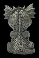 Dragon Figurine Glasses Holder - Thoughtful