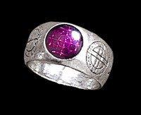 Alchemy Gothic Ring - Agla