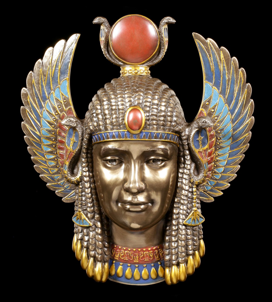 Ägyptische Wandmaske - Isis