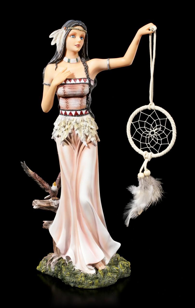 Indianer Mädchen Figur - Flight of Dreams