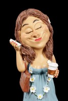 Funny Life Figurine - It Girl with Mobile