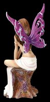 Jewelled Fairy Figurine - Amethyst - limited