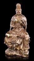 Kwan Yin Figurine - Moon & Water