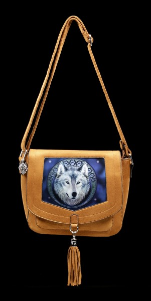 3D Umhängetasche - Lunar Wolf