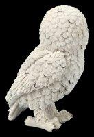 Snow Owl Figurine - Snowy Watch medium