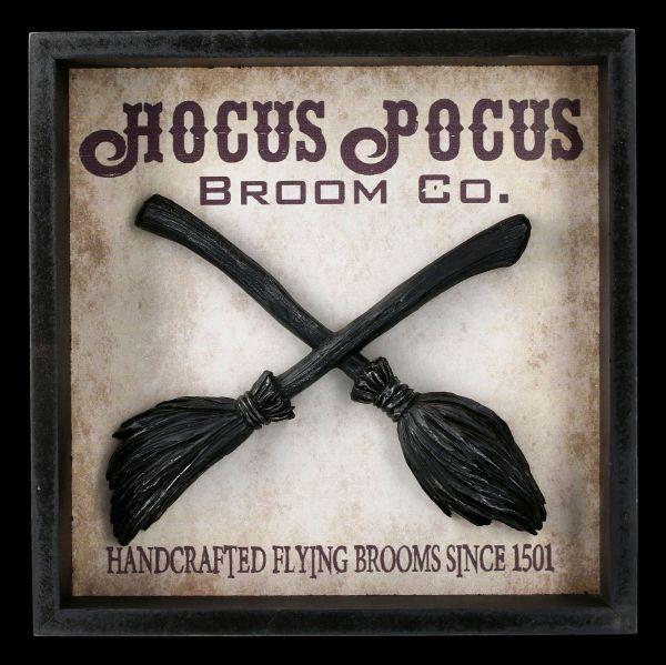 Wanddeko Hexenbesen - Hocus Pocus