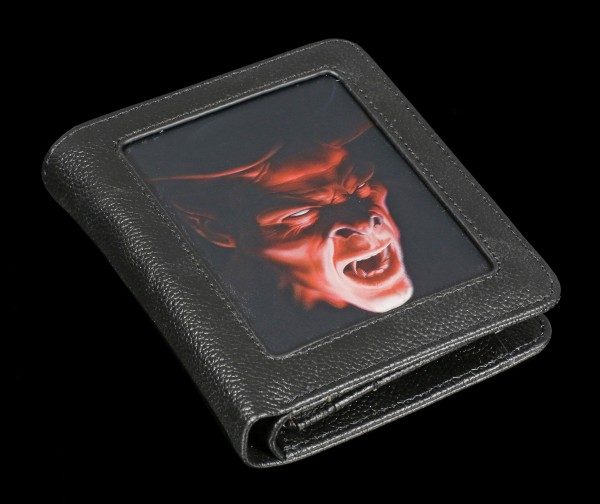 Geldbörse mit 3D Teufel - Shadow Demon
