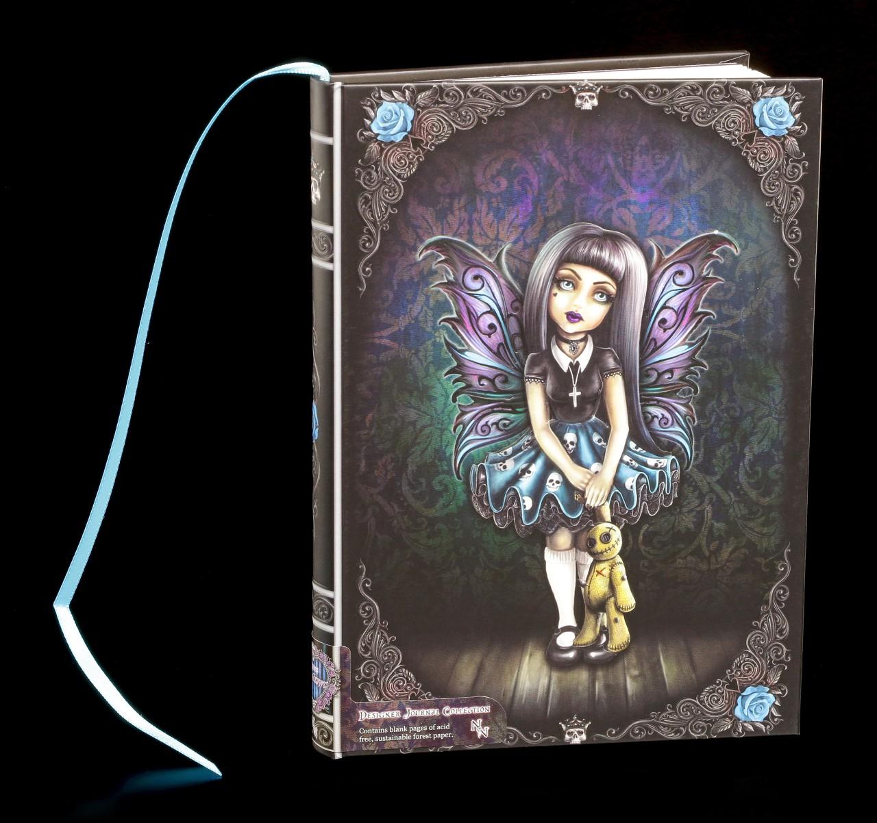 Notizbuch mit Gothic Elfe - Noire