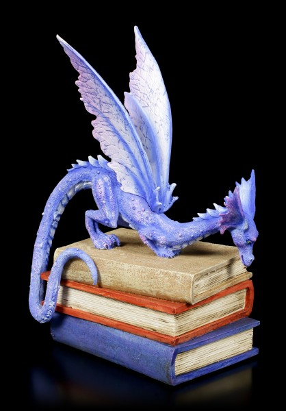 Book Dragon Figurine by Amy Brown