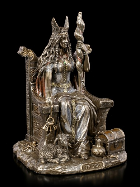 Frigga Figurine - Germanic Goddess - Wife of Odin