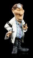 Funny Job Figurine - Doctor with Stethoscope