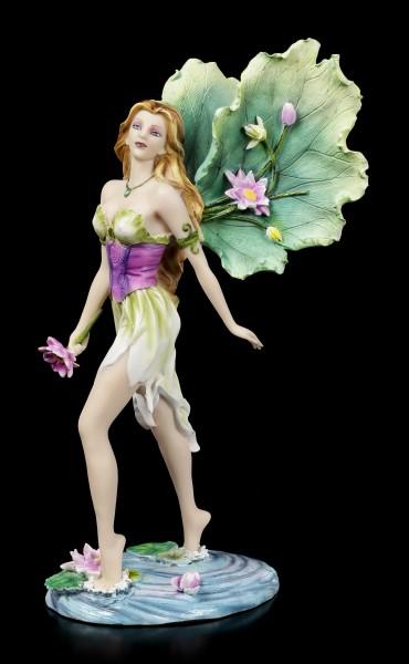 Fairy Figurine - Lotus walks over Water