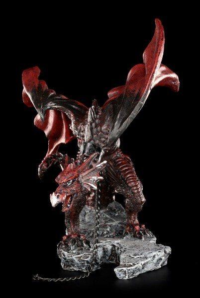 Drachen Figur - Golnar mit loser Kette