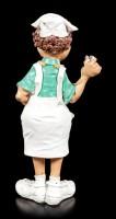 Nurse Figurine holding Tray - Funny Jobs