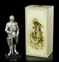 Deutsche Ritter Figur mit Schallerhelm