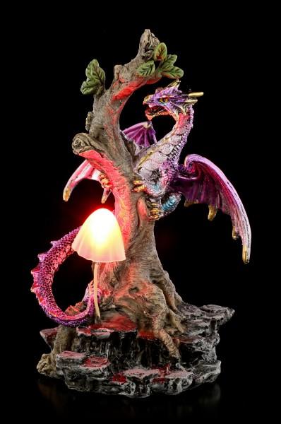 Drachen Figur mit LED - Woodland Flight