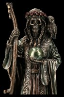 Santa Muerte Figurine - Reaper with Scythe