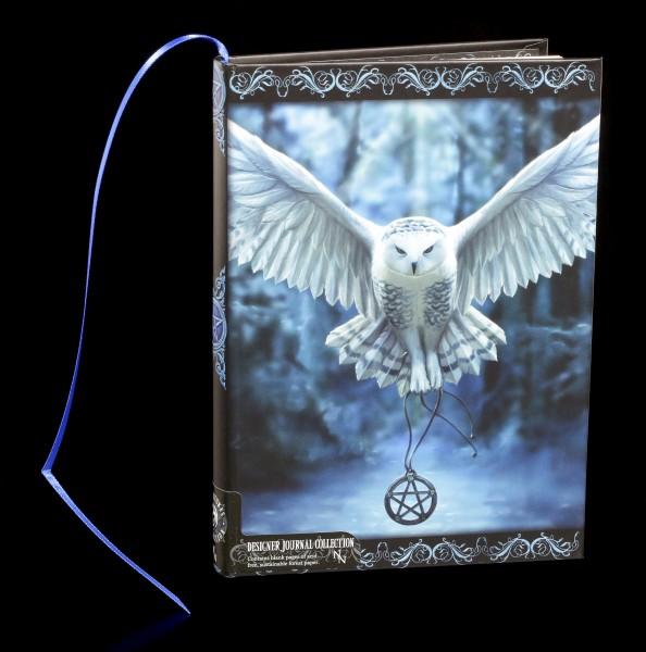 Notizbuch mit Eule - Awaken Your Magic