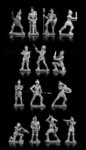 Ritter Figuren für Ritterburg Display - 14er Set