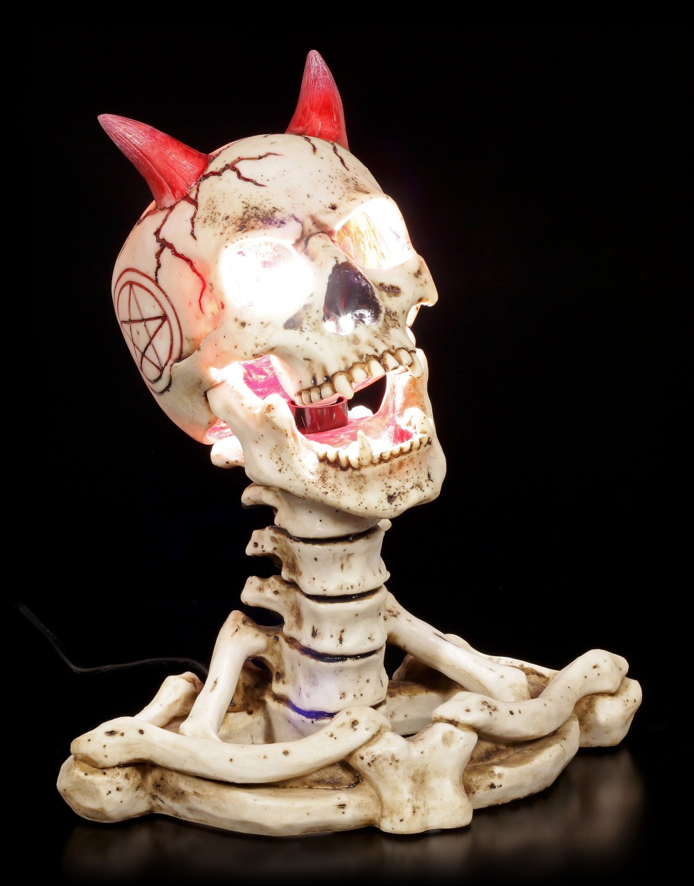 Skeleton Table Lamp - Hell of a Light