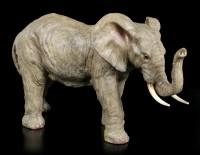 Elefanten Figur - Stehend mit erhobenem Rüssel