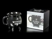Tasse in Kesselform - Witches Brew