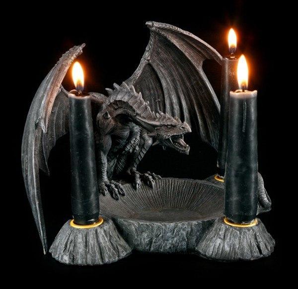 Drachen Kerzenhalter - Dragons Breath