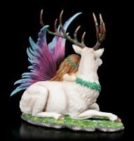 Elfen Figur - Fawna mit Hirsch