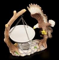 Duftlampe - Adler im Anflug