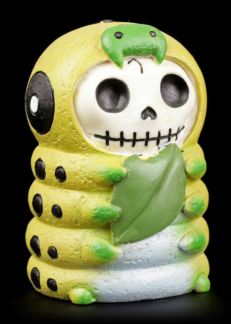 Furry Bones Figur - Caterpillar