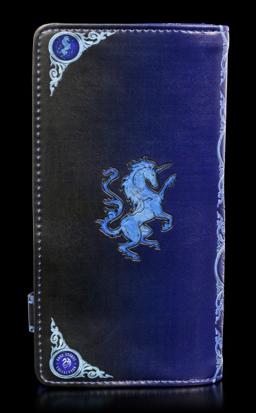 Embossed Purse with Unicorn - Solace
