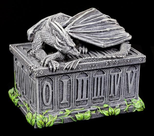 Vorschau: Tarotkarten Schatulle mit Drachen - Fortune's Keeper