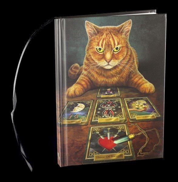 Hardcover Notizbuch mit Katze - The Reader