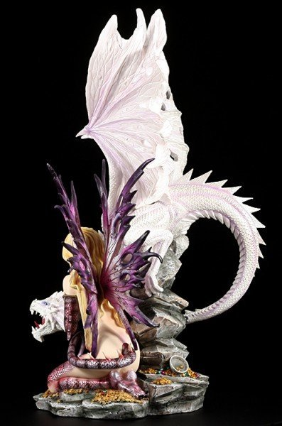 Dragon Fairy - Dragon Guard with large white Dragon