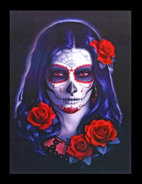 3D Bild Day of the Dead - Sugar Skull
