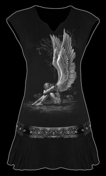 Langshirt Gothic Engel - Enslaved Angel
