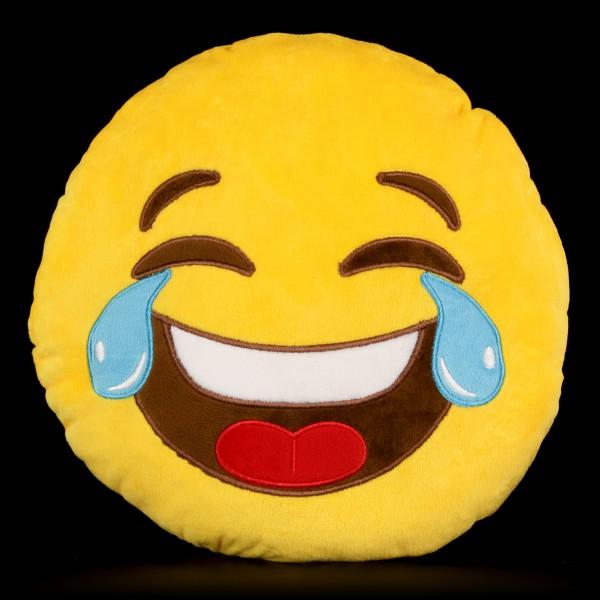 Emoji Plüsch Kissen - Tränen Lachen