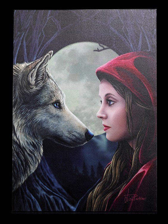 Large Canvas - Moonstruck by Lisa Parker