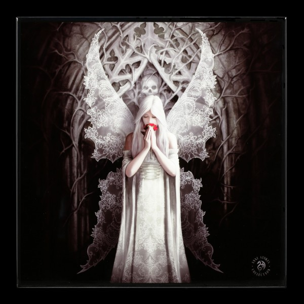 Small Crystal Clear Picture Gothic Angel - Only Love Remains